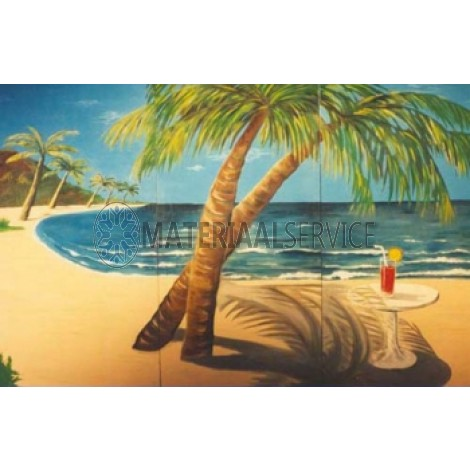 Beach/trpisch decor 375 x 250 cm