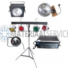 Complet  Disco lichtset