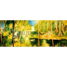 Jungle decor incl. decorsteunen 6,25 mtr