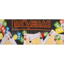 Las Vegas decor afm. 6,25 x 2,5 mtr