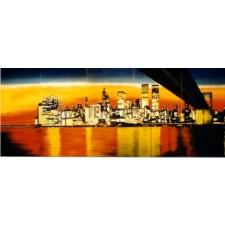 Decor New York By Night afm. 6.25 x 2.5 mtr