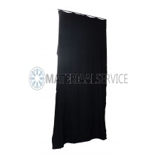 Backdrop zwart 3 x 5 mtr.
