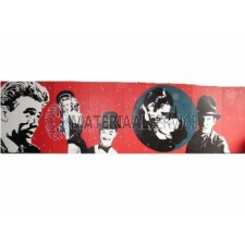 Rock and Roll film decor 10 mtr x 2.5 mtr