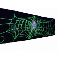 Fluor decordoek Spider Woman afm. 5 x 1,45 mtr.