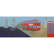 Decor Towerbridge afm. 6,25 x 2,5 mtr