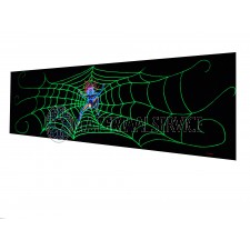 Decor doek Spider Woman  afmetingen 5 x 1,45 meter